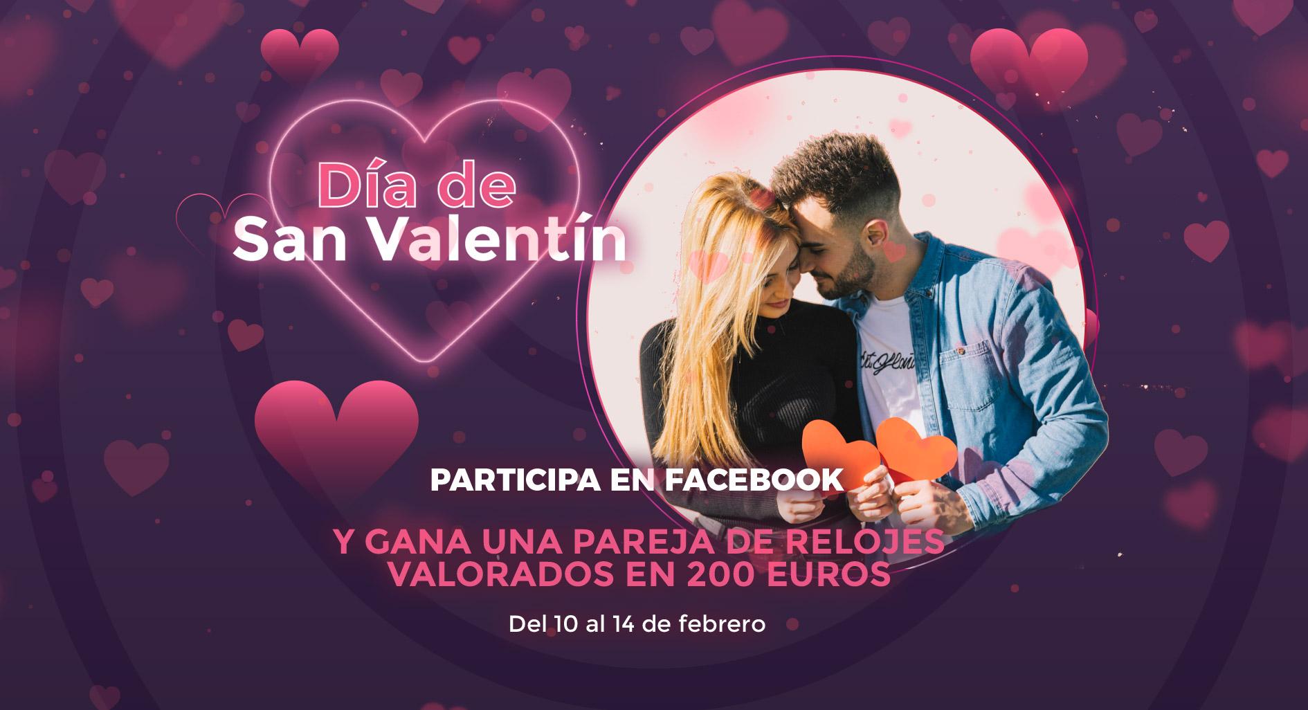 Sorteo San Valentín Centro Comercial y de Ocio La Loma