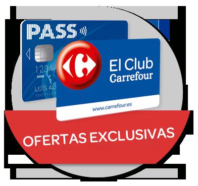 Ofertas Exclusivas Tarjeta PASS y tarjeta Club Carrefour