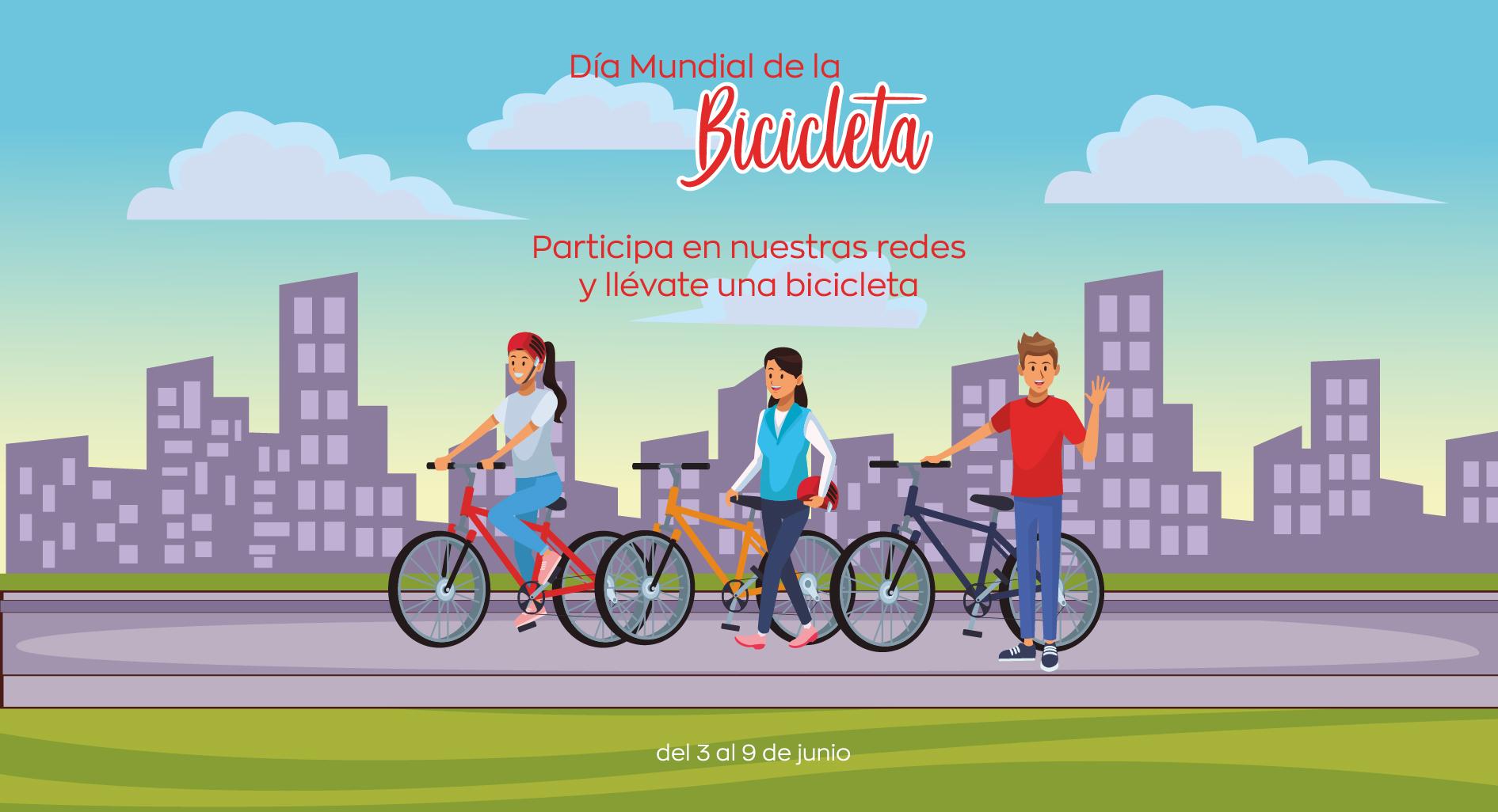 Sorteo Día de la Bicicleta Comercial La Loma